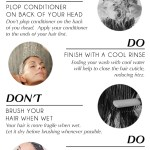 Hair Washing Do's and Don'ts