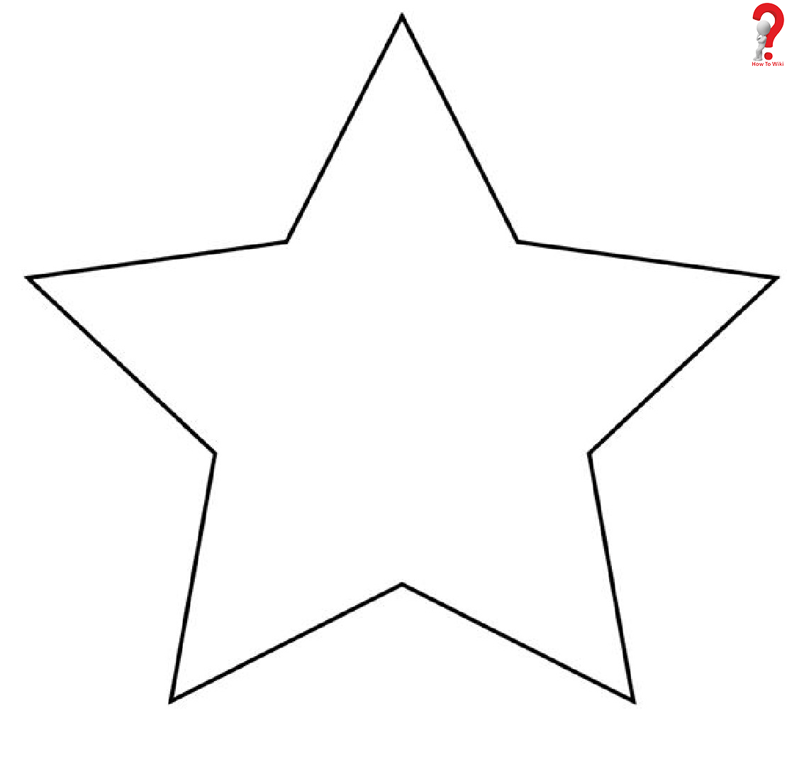 How To Create Printable Star Template