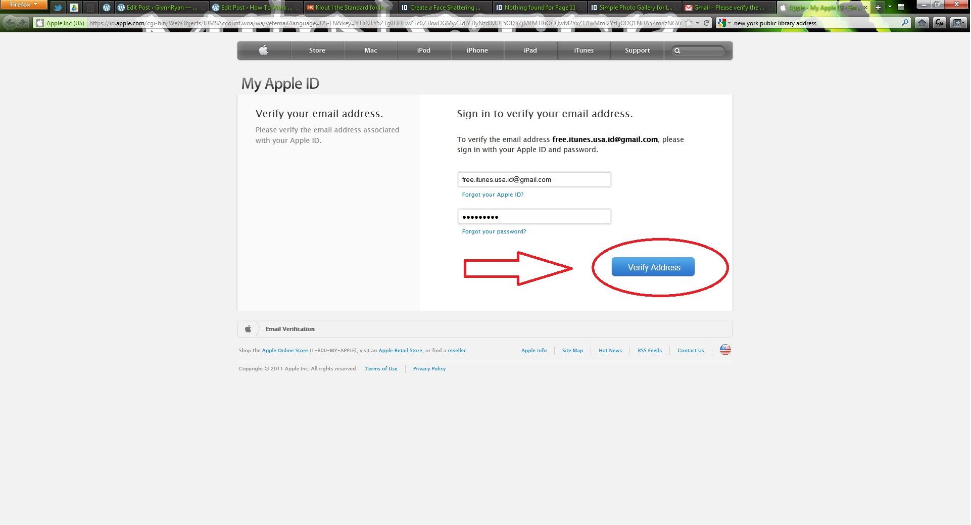 Creating A USA Or UK ITunes Account - Us zip code for apple id