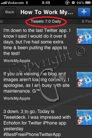 Tweetdeck Average Tweets