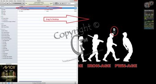 Drag File To Desktop to Duplicate