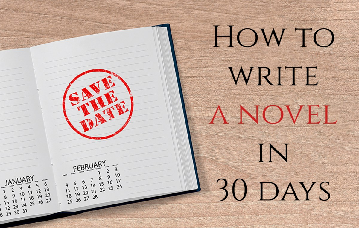 How to write like  How to write a novel in 29 days