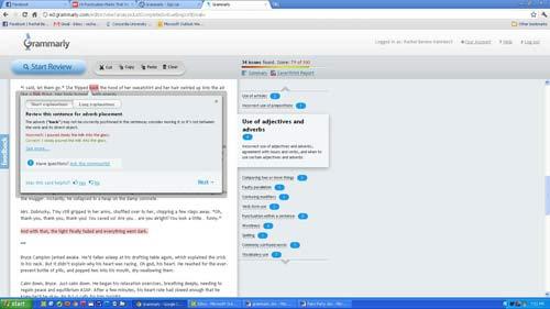 Grammarly Screen Shot 4