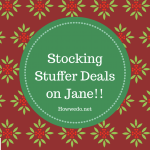 Stocking Stuffers For the Whole Family on Jane!