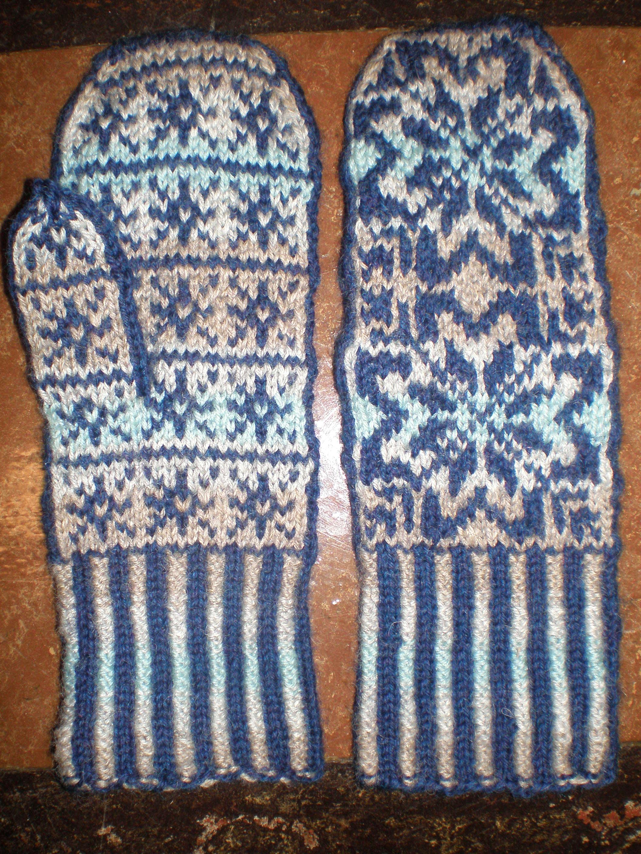 Monthly Craft Winter Mittens