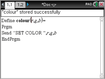 Abstracting SET COLOR — and Connecting to Prior Learning