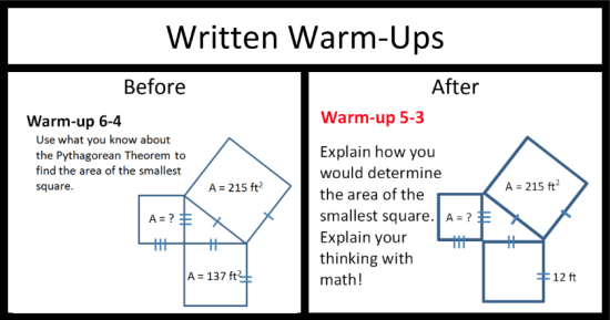 17 Prompts for Writing in Mathematics—and Why It Even