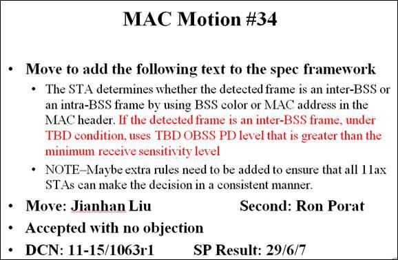 MAC Motion #34