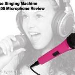 Karaoke Singing Machine SMM-205 Microphone Review