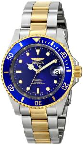 Invicta Men's 8928OB Pro Diver 23k Gold-Plated and Stainless Steel Two-Tone Automatic Watch review