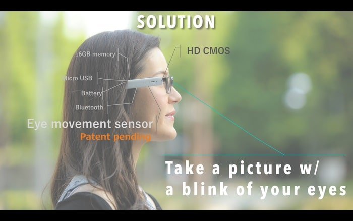 blincam wearable camera crowd funding