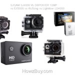 SJCAM SJ4000 Vs DBPOWER 12MP vs EX5000 vs VicTsing vs Lightdow LD4000
