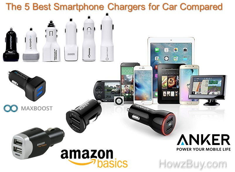 The 5 Best Smartphone Chargers for Car Compared