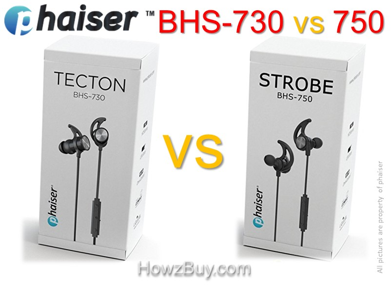 Phaiser BHS-730 vs BHS-750 Upgrade Comparison