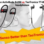 Senso ActivBuds S-250 vs TaoTronics TT-BH07U  Headphones Review & Compare