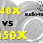 Audio-Technica ATH-M40x vs M50x Comparison & Review