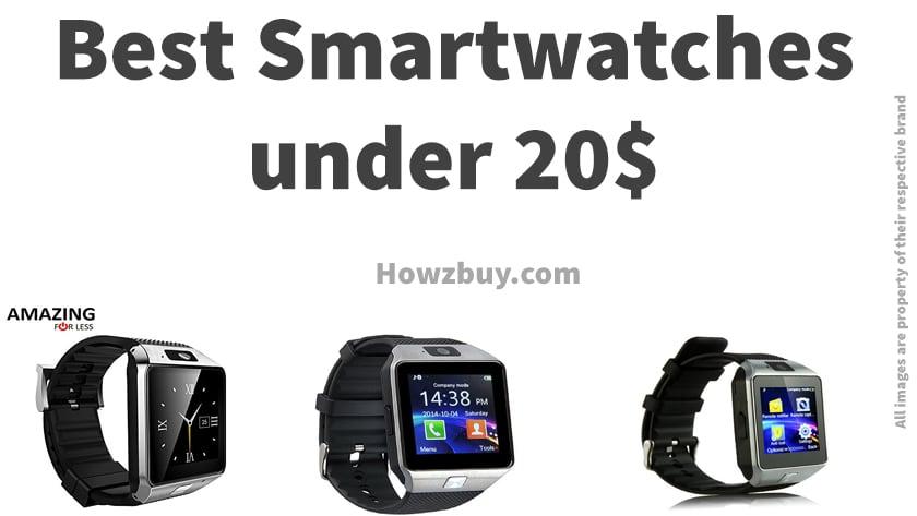 Best Smart Watches Under 20$