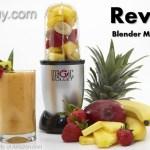 Magic Bullet Blender Mixer Chopper Review
