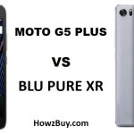 Moto G5 Plus VS Blu Pure XR