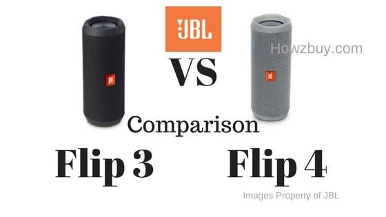 JBL Flip 3 vs JBL Flip 4 Comparison & Review