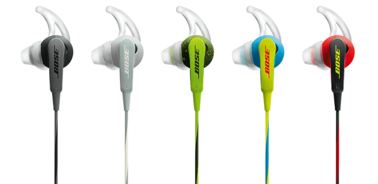 bose in earphones colour