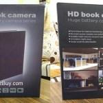 Conbrov DV9 HD Book spy Security Camera Review