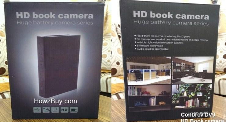 Conbrov-DV9-HD-Book-Camera-Review-spy camera-hidden camera-security camera-book camera
