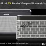Bose SoundLink And Fender Bluetooth Speaker III Comparison