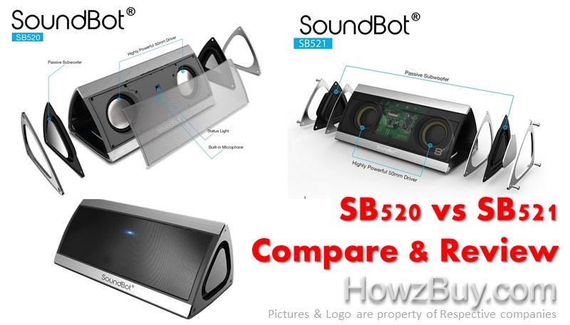 SoundBot SB520 vs SB521 Review and Comparison