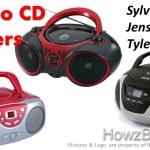 Sylvania Vs Jensen Vs Tyler Portable CD Player Comparison And Review