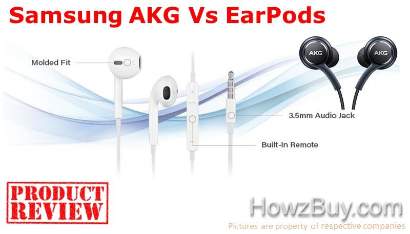 Samsung AKG Vs EarPods Review
