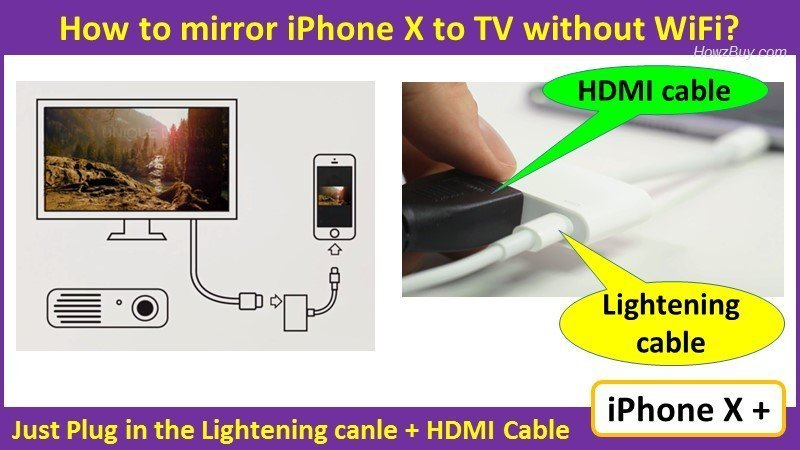 How To Mirror Iphone X Tv Without, Is There A Way To Mirror Iphone Tv Without Wifi