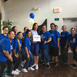 Sutter Health employees celebrate new Blue Zones healthy living efforts