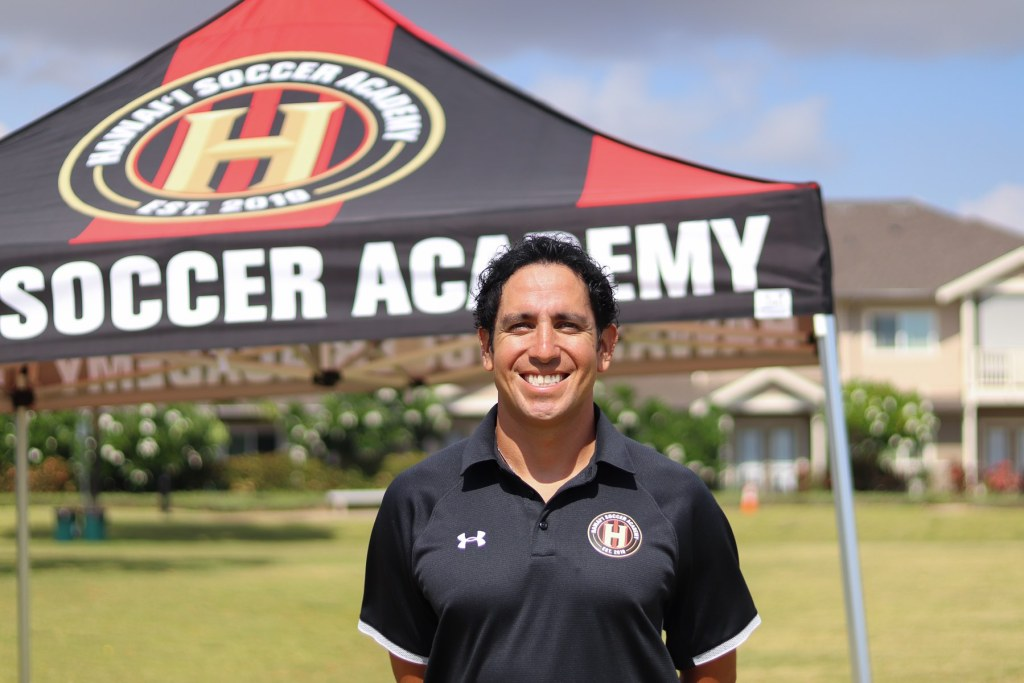 james sasiadek, co-founder, Hawaii Soccer Academy
