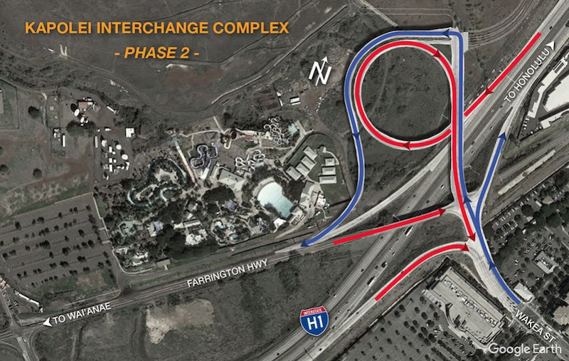 Kapolei Interchange Project Diagram