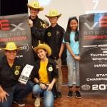 Kohala High Schools Na Paniolo Team 2460A, Co-Tournament Champs!
