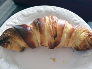 First attempt at croissants
