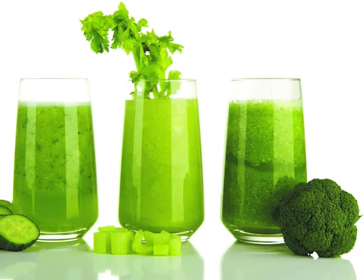 Jugos verdes, beneficios para la salud
