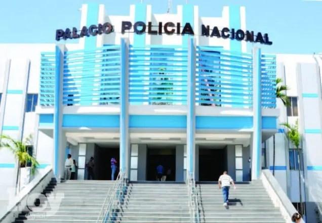 Fachada del Palacio de la Policía Nacional.