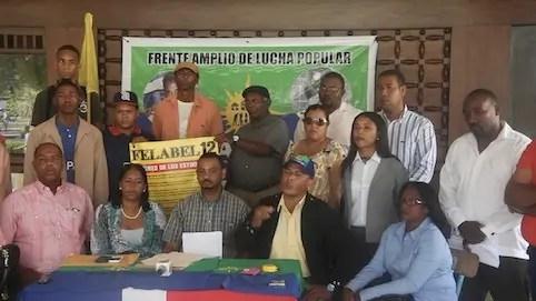 Eusebio Polanco coordinador del FALPO vocero de organizaciones de Higey