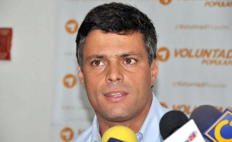 Leopoldo López .