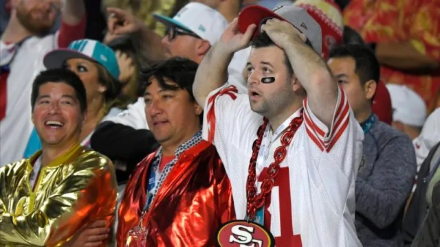 49ers Chiefs Super Bowl Football