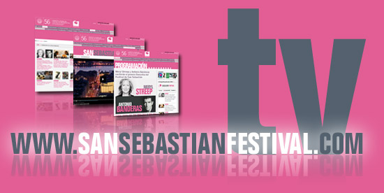 web oficial del Festival de San Sebastián