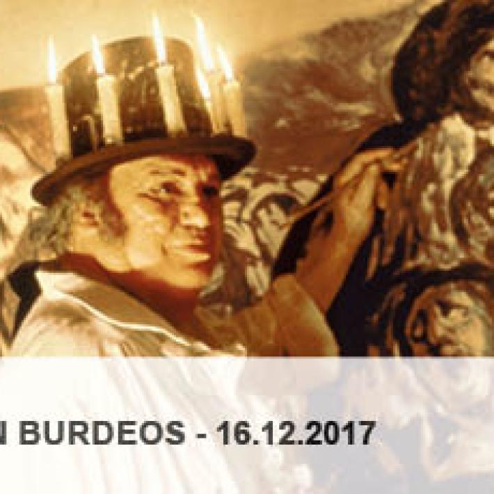 GOYA EN BURDEOS JOURNEE ETUDE 2017