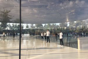 Steve Jobs Theater.