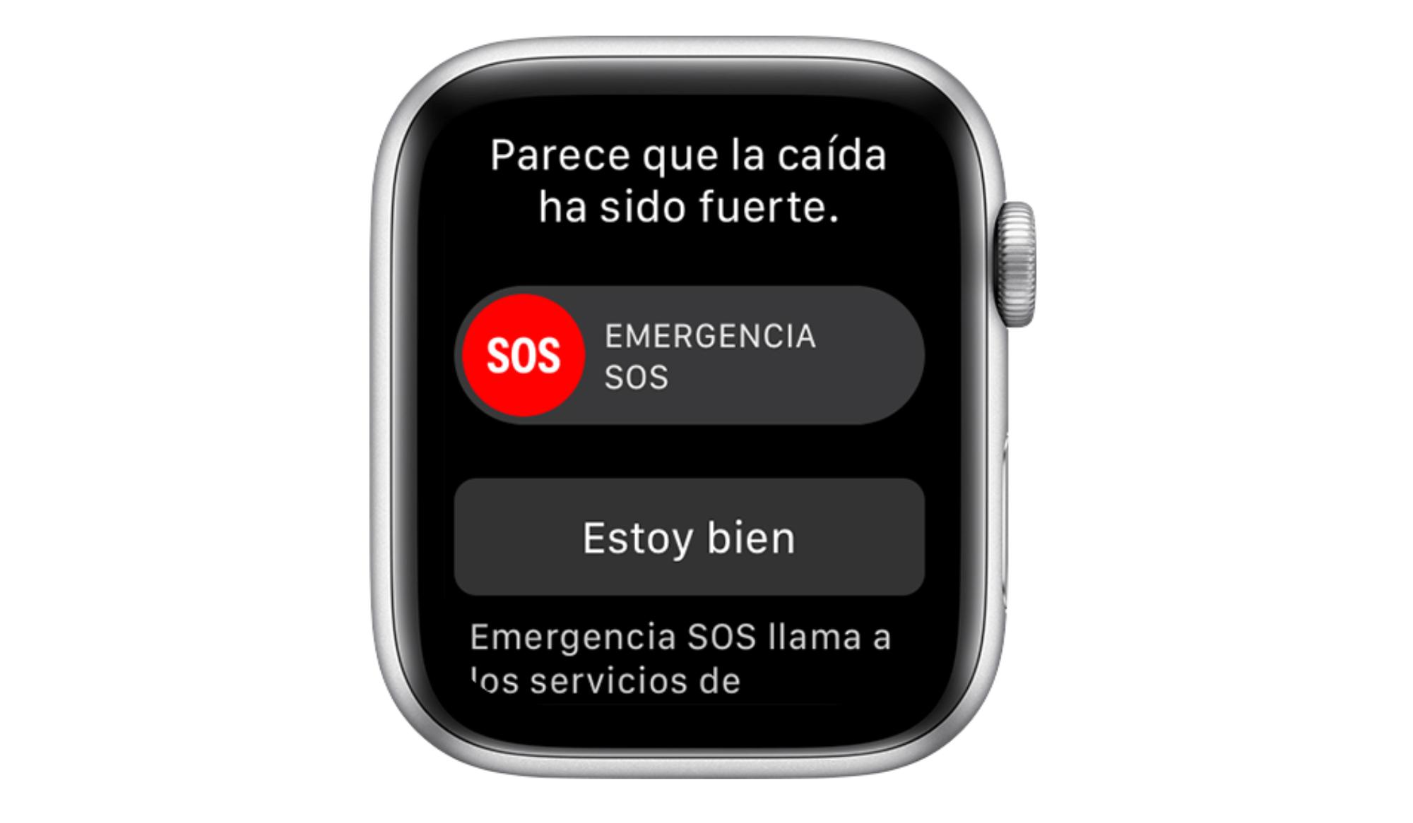 Emergencia Apple Watch