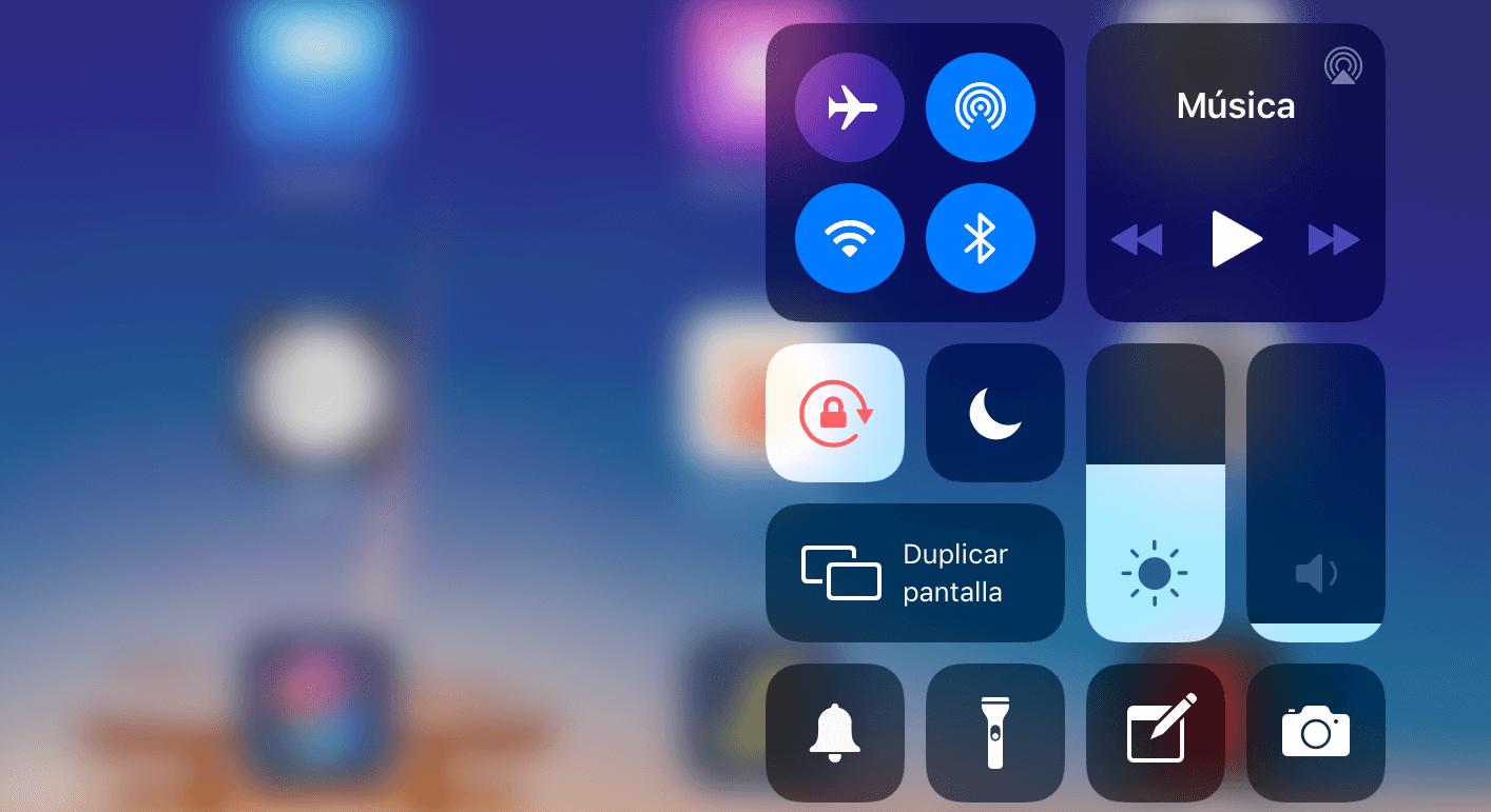 iPad Rotación