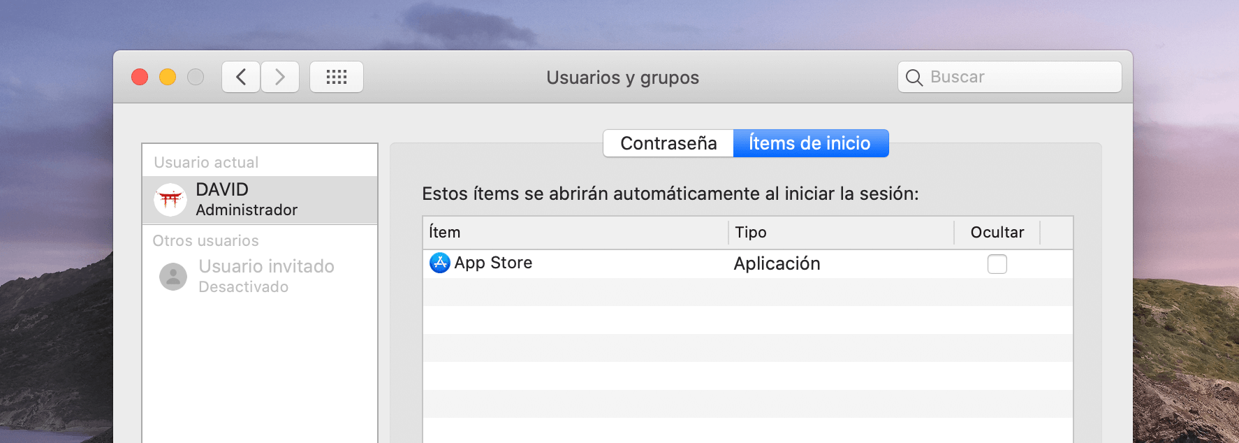 Preferencias - Hoy en Apple