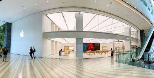 Apple Store aeropuerto Jewel Changi - Singapore