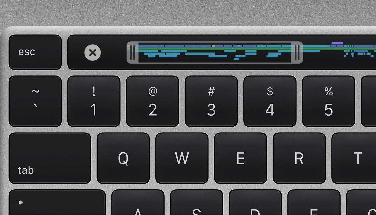 Teclado MacBook Pro 16